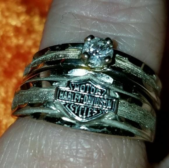 Harley Davidson Wedding Rings.Harley Davidson Wedding Ring Nwt